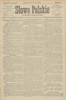 Słowo Polskie (wydanie poranne). 1900, nr335
