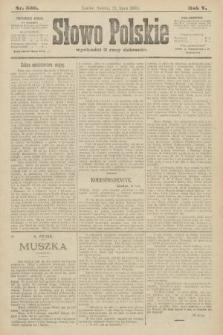 Słowo Polskie. 1900, nr336