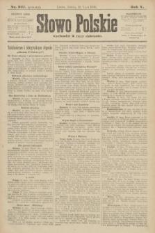 Słowo Polskie (wydanie poranne). 1900, nr337