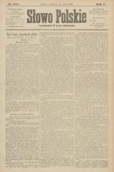 Słowo Polskie. 1900, nr338