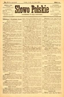 Słowo Polskie (wydanie poranne). 1900, nr343