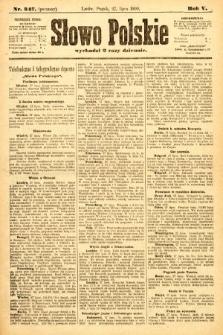Słowo Polskie (wydanie poranne). 1900, nr347