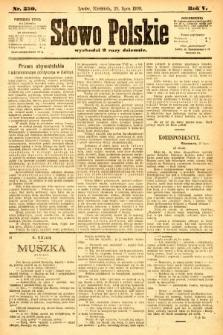 Słowo Polskie. 1900, nr350