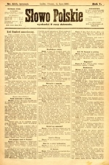 Słowo Polskie (wydanie poranne). 1900, nr353