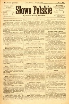 Słowo Polskie (wydanie poranne). 1900, nr355