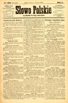Słowo Polskie (wydanie poranne). 1900, nr359