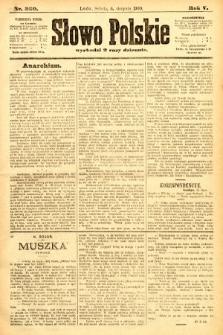 Słowo Polskie. 1900, nr360