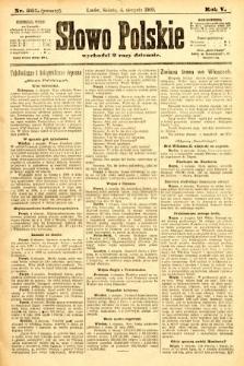 Słowo Polskie (wydanie poranne). 1900, nr361