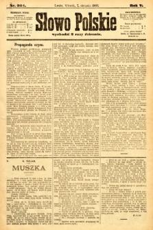 Słowo Polskie. 1900, nr364