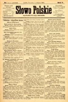 Słowo Polskie (wydanie poranne). 1900, nr369