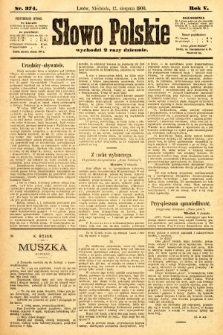 Słowo Polskie. 1900, nr374