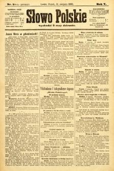 Słowo Polskie (wydanie poranne). 1900, nr382