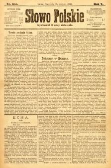 Słowo Polskie. 1900, nr385