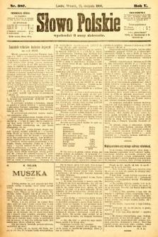 Słowo Polskie. 1900, nr387