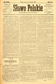 Słowo Polskie. 1900, nr389
