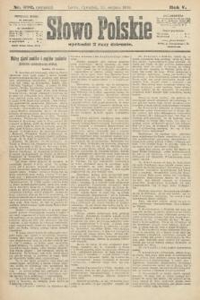 Słowo Polskie (wydanie poranne). 1900, nr392