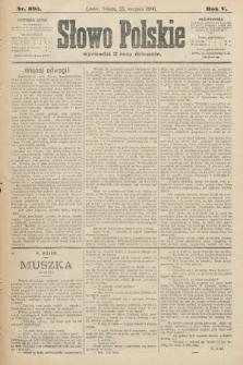Słowo Polskie. 1900, nr395