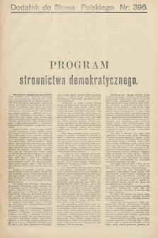 Słowo Polskie (wydanie poranne). 1900, nr396