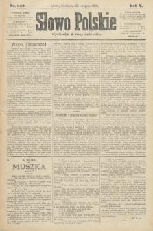 Słowo Polskie. 1900, nr397
