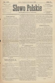 Słowo Polskie. 1900, nr403