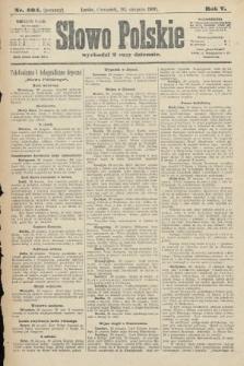 Słowo Polskie (wydanie poranne). 1900, nr404