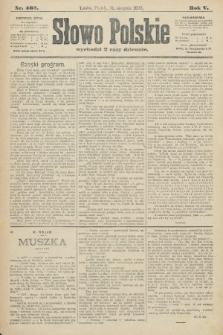 Słowo Polskie. 1900, nr405
