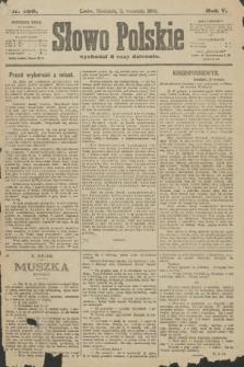 Słowo Polskie. 1900, nr409