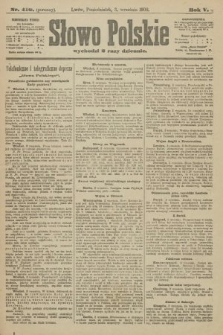 Słowo Polskie (wydanie poranne). 1900, nr410