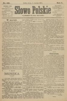 Słowo Polskie. 1900, nr413