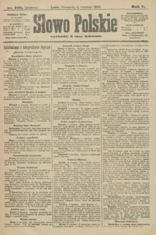 Słowo Polskie (wydanie poranne). 1900, nr416