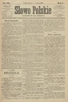 Słowo Polskie. 1900, nr417