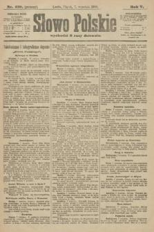 Słowo Polskie (wydanie poranne). 1900, nr418
