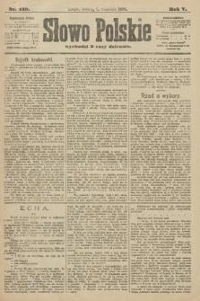 Słowo Polskie. 1900, nr419