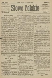 Słowo Polskie. 1900, nr422