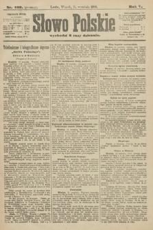 Słowo Polskie (wydanie poranne). 1900, nr423