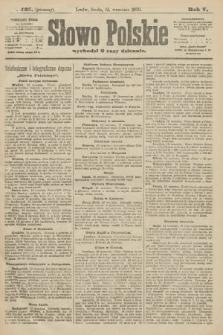 Słowo Polskie (wydanie poranne). 1900, nr425