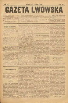 Gazeta Lwowska. 1899, nr 32