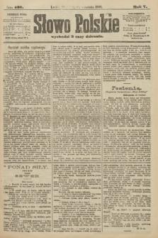 Słowo Polskie. 1900, nr432