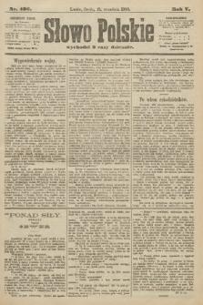 Słowo Polskie. 1900, nr436