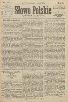 Słowo Polskie. 1900, nr438