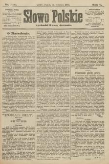 Słowo Polskie. 1900, nr440