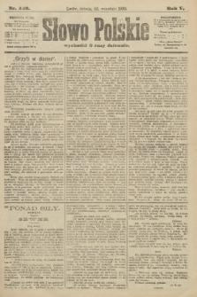 Słowo Polskie. 1900, nr442