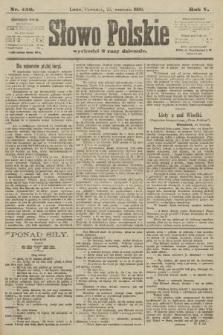 Słowo Polskie. 1900, nr450