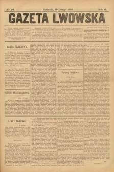 Gazeta Lwowska. 1899, nr 34