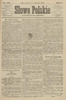 Słowo Polskie. 1900, nr461
