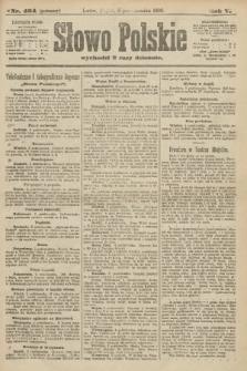 Słowo Polskie (wydanie poranne). 1900, nr464