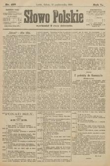 Słowo Polskie. 1900, nr477