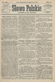 Słowo Polskie (wydanie poranne). 1900, nr480