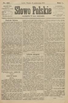 Słowo Polskie. 1900, nr481