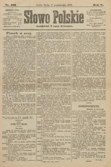 Słowo Polskie. 1900, nr483